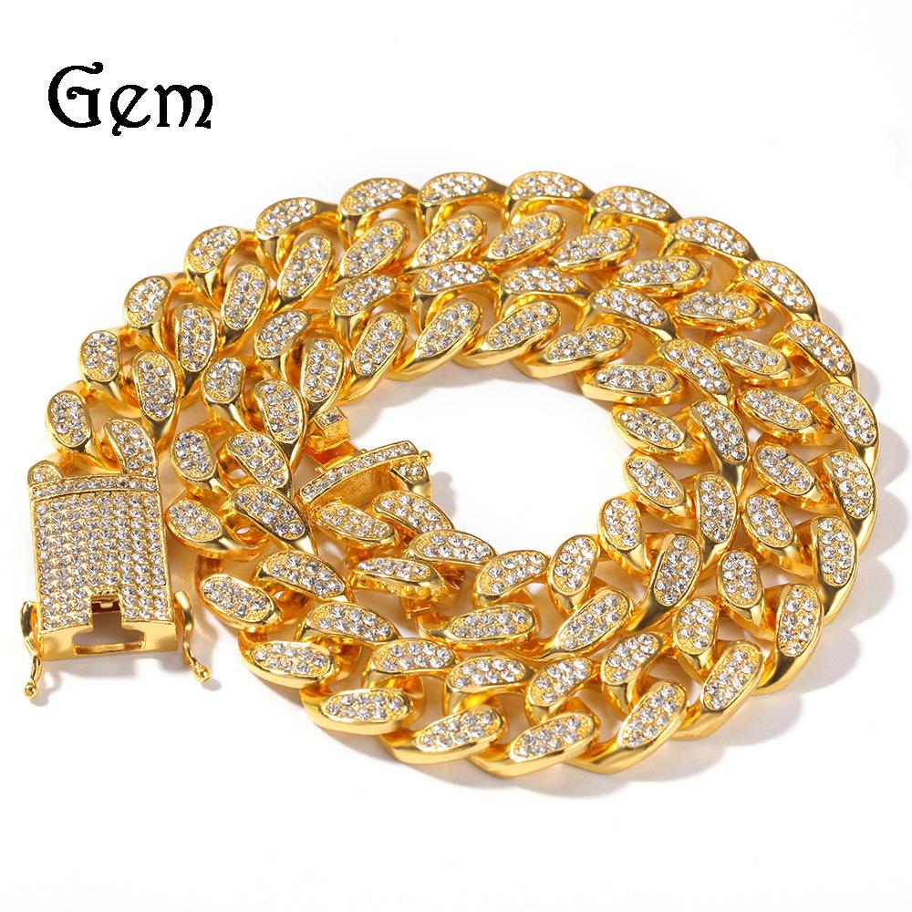 Hiphop rap accessories 20mm full diamond...