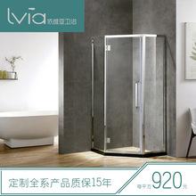 广东专业生产淋浴房厂家  厂家直销304不锈钢钻石型淋浴房
