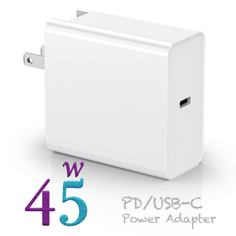 PD45w رأس الشحن السريع PD شاحن الطاقة المحمول متعدد المنافذ شاحن PD ذكي نوع Nintendo