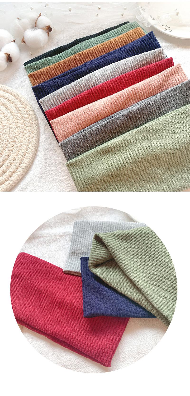Retro simple knit hair band edge fashion tiara hair band headband headband headdress NHOF175368