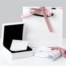 5件套专柜原包装盒子 纯银925手链手镯手环项链戒指耳环耳钉串珠
