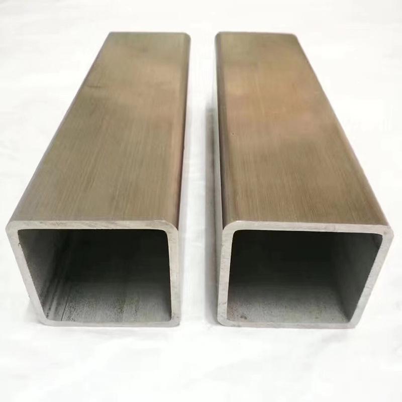 廣東304不銹鋼方管 多規格 拉絲鏡面矩形管 光亮不銹鋼方通切割