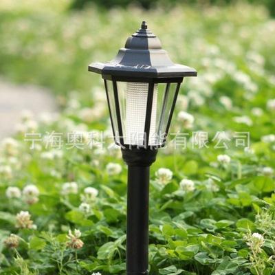 六角太阳能灯AK-5027中号六角灯  太阳能花园灯 LED灯具