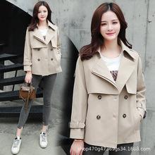 外套女2019春秋季新款女士短款潮流韩版小风衣春装修身显瘦女装外
