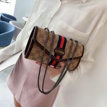 包包女批发夏季新款女士单肩斜挎包链条小方包韩版时尚百搭帆布包