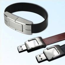 廠家批發 手腕皮帶U盤 創意禮品優盤皮套U盤4g 8g 16g 定制LOGO