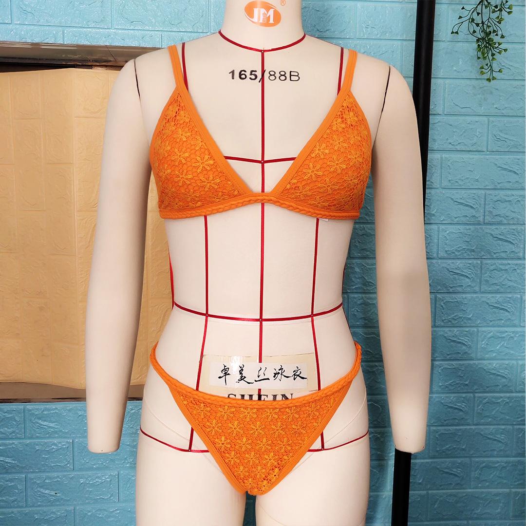 Explosive ladies split hand-woven swimsuit NHNM142611