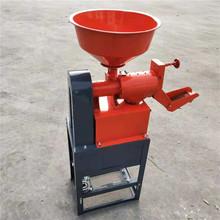 水稻剝殼脫皮機 立式稻谷脫殼機 鐵輥碾米機