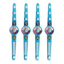 紫外线测试手环 uv变色手腕带 儿童手表PVC软胶卡通手环logo定制