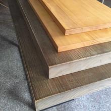 定制進口實木板 新西蘭松木板吧臺加長diy辦公桌面自然邊木板批發