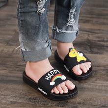 厂家直销 夏季儿童拖鞋 可爱女童鞋 宝宝防滑家居卡通中童凉拖鞋