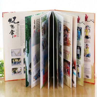 十寸相册彩色纪念册 艺术相册斑斓艺术册 儿童成长纪念册定制