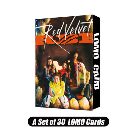 Red Velvet Red Beibei Collective 04 LOMO Box Card Set Một bộ 30 RBB