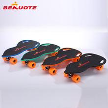 廠家直銷電動滑板兒童成人初學者新手無線遙控防水滑板車帶剎車