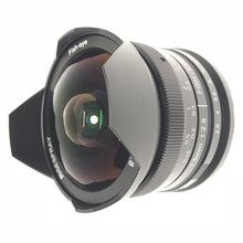 7.5MM F2.8X魚眼180度超廣角微單鏡頭FX M4/3 NEX EOSM