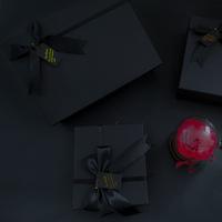 Настроить новый товар новинка Небо и земля корпус Идея подарочной коробки черный Подарочная коробка черный бантики узел подарок пакет бокс оптовые продажи
