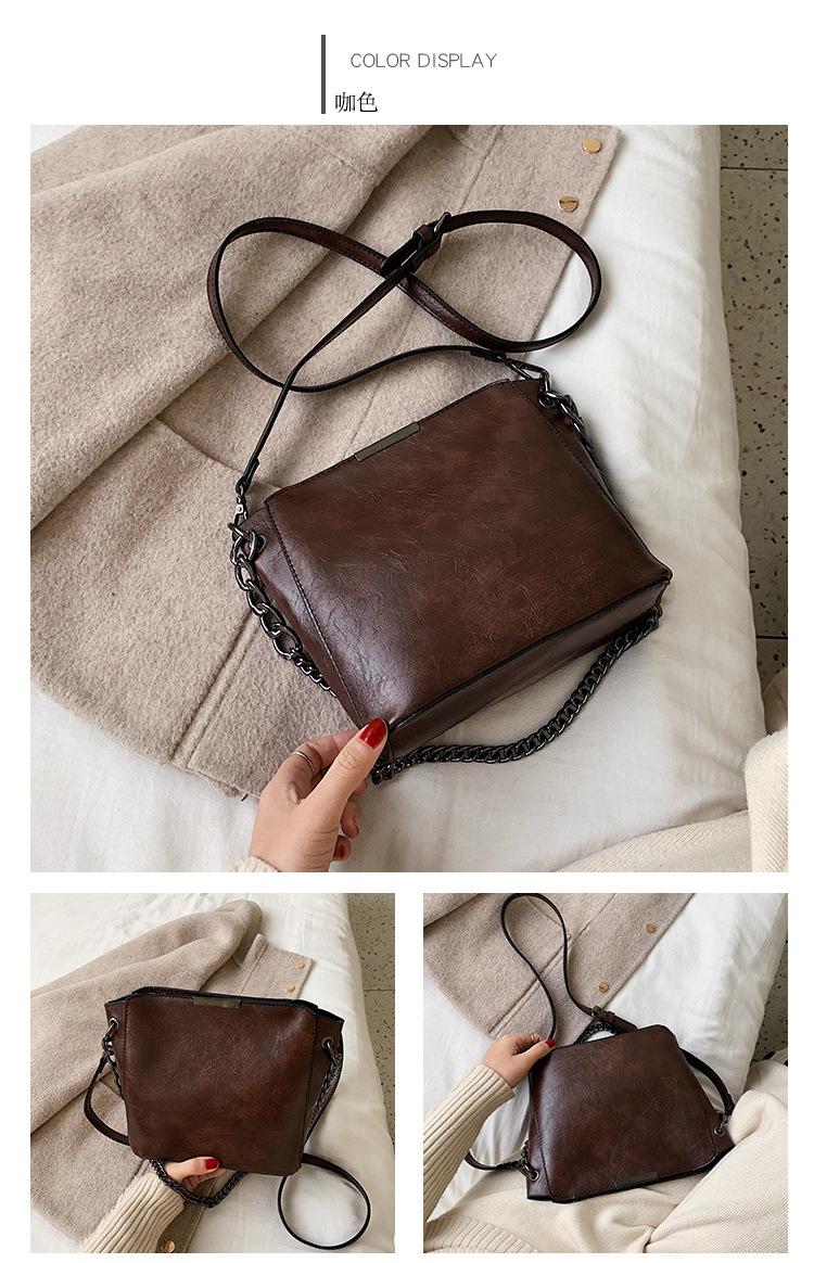 wholesale bucket bag winter new fashion messenger bag wild simple shoulder bag NHTC185304