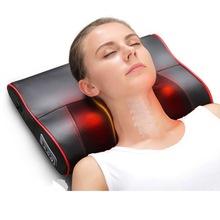 颈椎按摩器颈部按摩枕头部全身多功能脖子肩背部腰腿部电动按摩垫