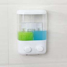 跨境賓館酒店皂液器洗手液瓶手動按壓皂液機壁掛式洗發沐浴露盒瓶