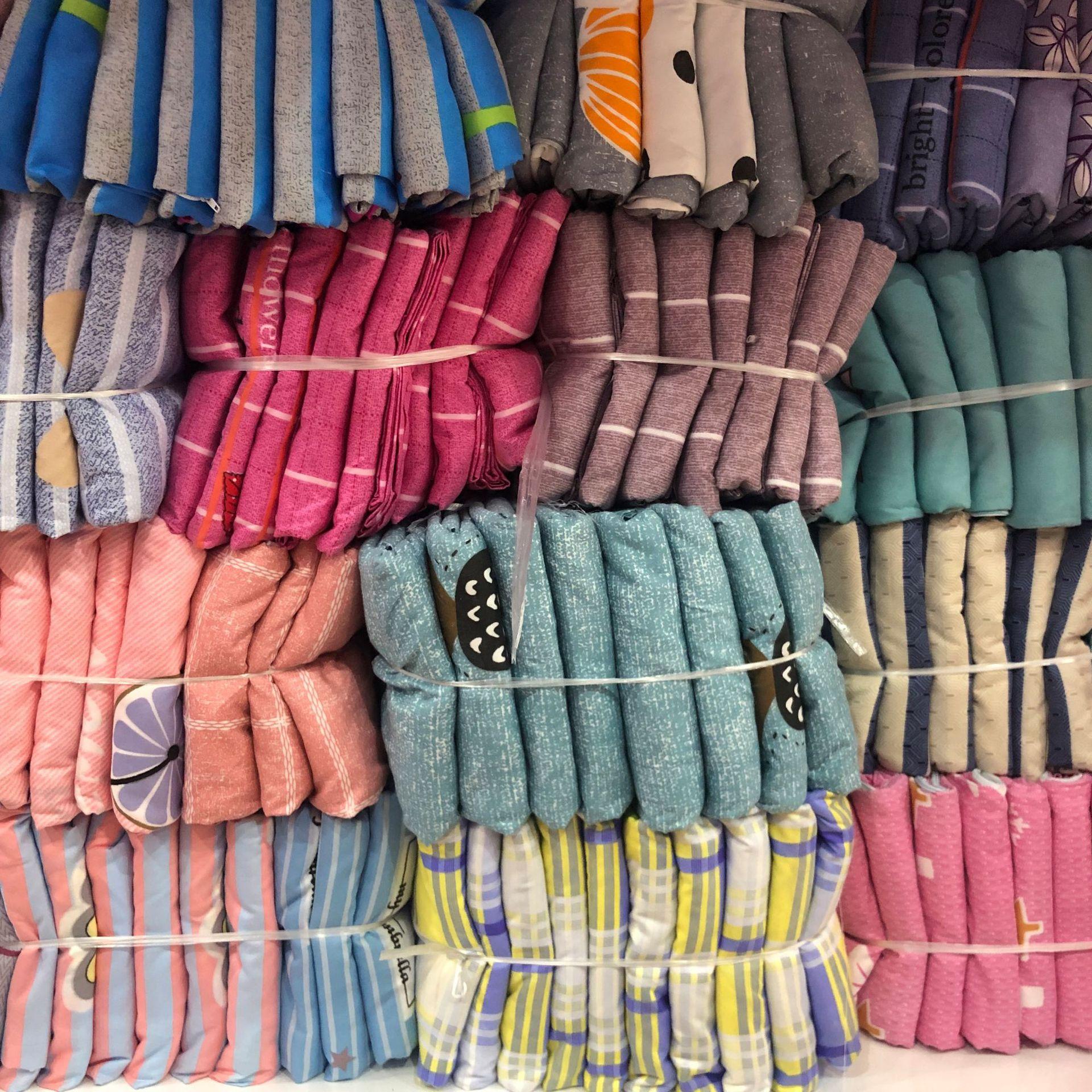 ?#21442;?#32650;绒床单被套四件套 枕套被罩地摊早市赶集热卖 厂家直销