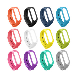M3 smart bracelet watchband colorful wristband sports bracelet replacement belt skin-friendly material monochrome can be customized logo