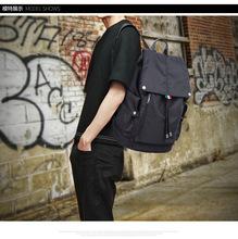 韓版潮流高中學生書包電腦包男士休閑防水牛津布大容量旅行背包