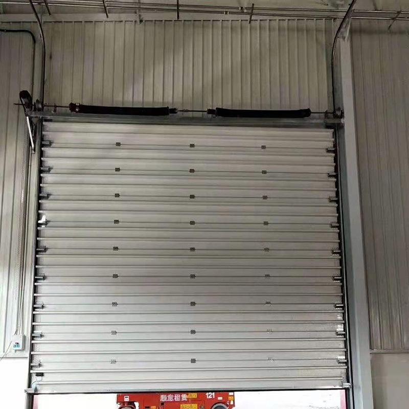 厂家直销各类工业滑升门电动工业滑升门 工厂车间防尘快速滑升门