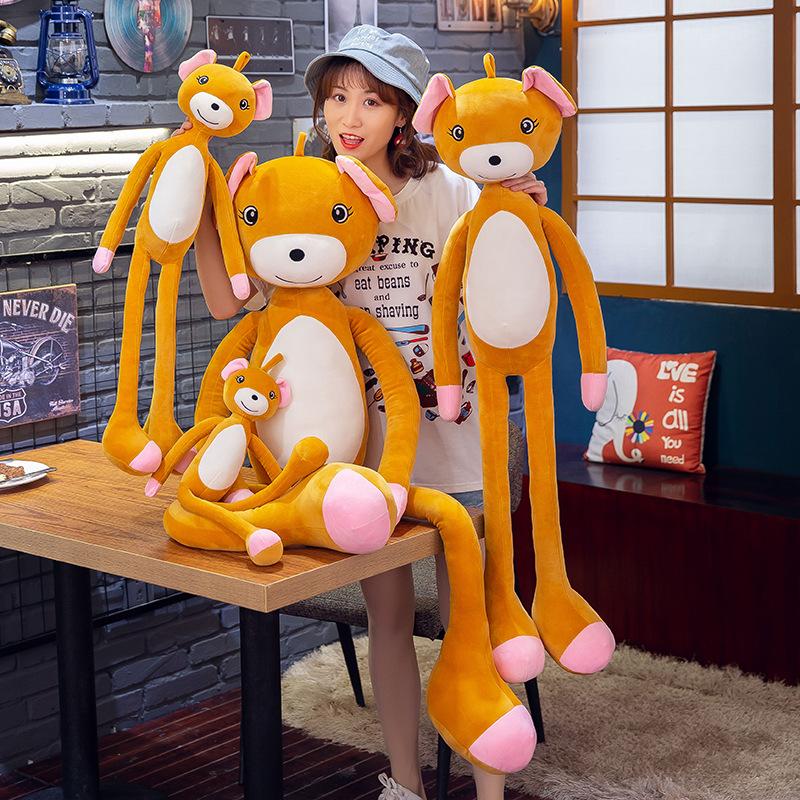 毛绒玩具 新款批发抖音同款玩具长腿棕熊创意儿童生日礼物定制