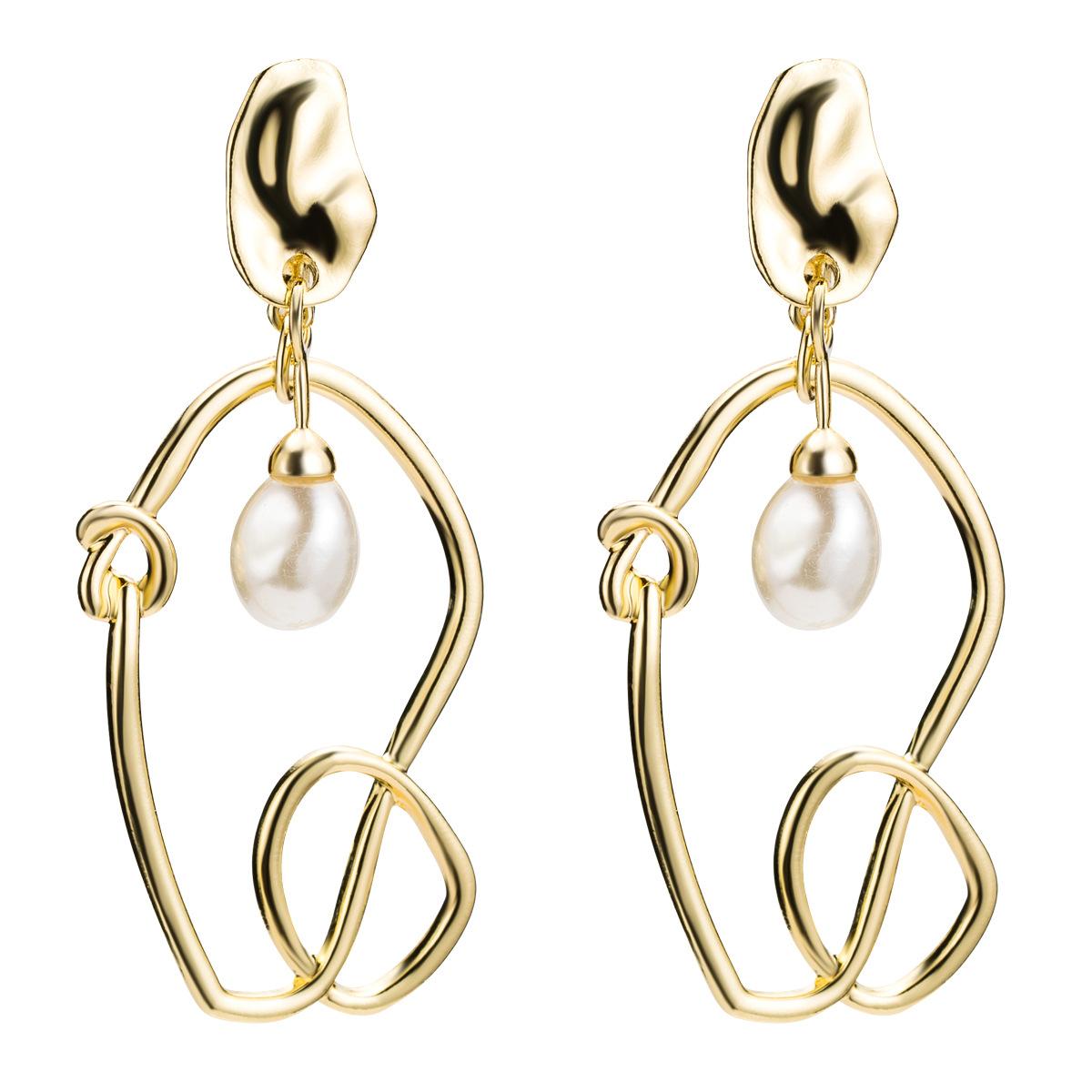 Alloy Fashion Geometric earring  (Alloy)  Fashion Jewelry NHJE2628-Alloy
