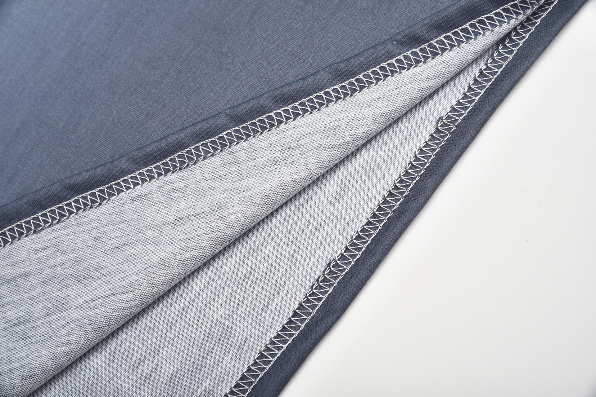 Womens Long Sleeve Gradient T Shirt Plus Size