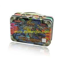 专业订制 马口铁罐铁盒 手挽罐手提铁盒 陶瓷罐金属罐