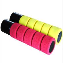 义乌迈达彩色条纹橡胶发泡管 nbr橡塑海绵套管 工具防护手把套