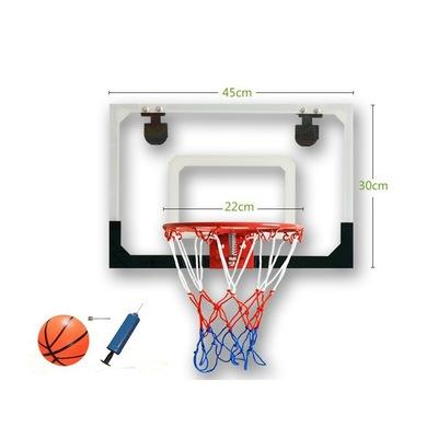 儿童篮球架 透明壁挂式篮球板 休闲篮板 易悬挂小篮框