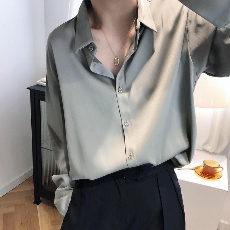 쉬폰 셔츠 3컬러
