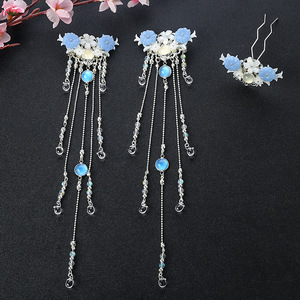 chinese hanfu hair accessory for girls ancient Chinese Hanfu Dynasty clothes can be used in all kinds of hair crowns with Guosen hair accessories in ancient Wei and Jin Dynasties