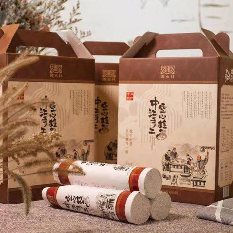 厂家批发 四川中江特产 手工空心挂面250克 空心如玉 细如发丝