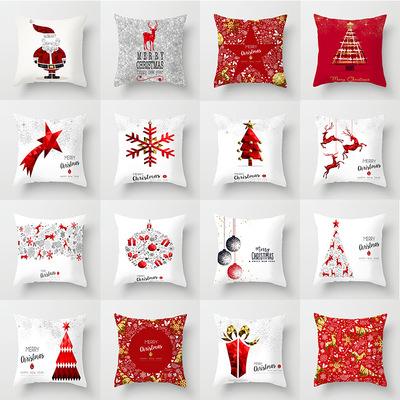 18'' Cushion Cover Pillow Case Christmas pillow cover sofa car cushion pillow cover