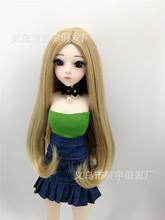 bjd sd3 4 6分叶罗丽凯蒂60厘米娃娃衣服  可爱牛仔裙套装
