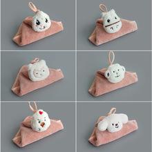 创意新款可爱十二生肖软萌擦手巾 挂式家用不掉毛吸水洗擦手毛巾