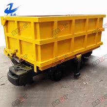 山东生产型号 YCC2-6单侧曲轨侧卸式矿车 矿用曲轨侧卸式矿车
