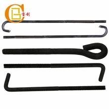 供应地脚螺栓7字9字焊板猫爪预埋形状尺寸不限材质不限可定做