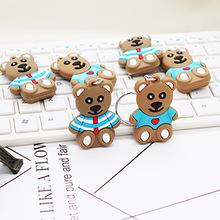 韩国卡通钥匙挂件小熊小?#36855;?#21273;扣女士时尚包包手机挂件创意小礼品