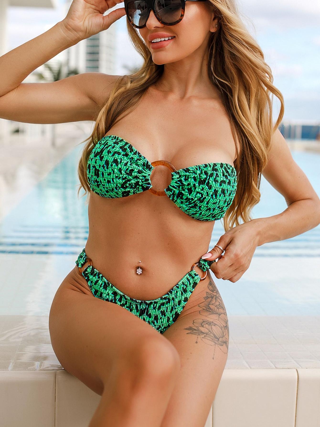 hot style swimsuit women's split bikini swimwear wholesale NSDA162