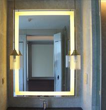 高檔酒店魔術鏡 鏡面玻璃 防水鏡面電視玻璃