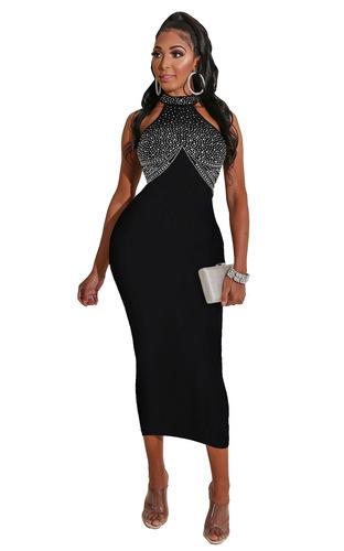 Tight Sexy jazz dance bling dresses Diamond Dress nightclub skirt