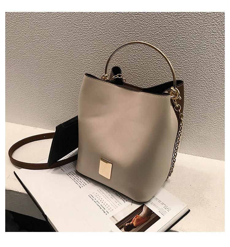 Trendy wild texture Korean handbag NHLD121198