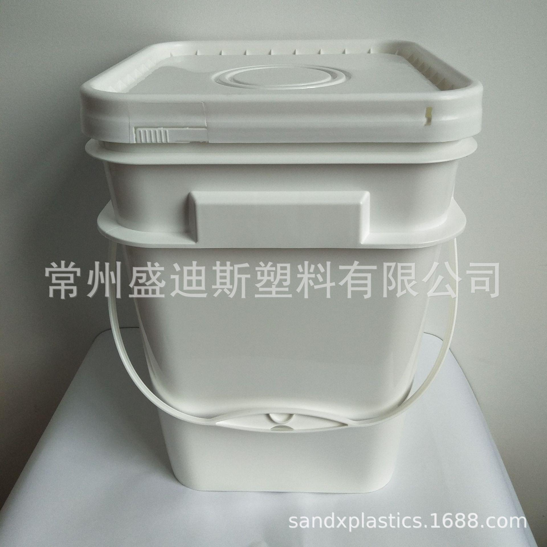塑料方桶  乳胶漆塑料桶 乳胶漆方桶 15L塑料方桶