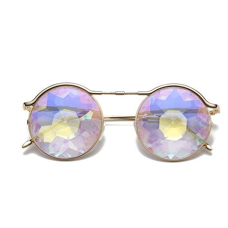 Kính vạn hoa kính vạn hoa Kính râm đêm đêm trình diễn trang phục với những điệu nhảy tiệc tùng để đeo kính râm mát mẻ Khung