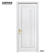 百顺邦 厂家定制整套实木复合门卧室门室内门 白色简约房间门广州