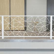 簡約現代家用鐵藝護欄 樓梯扶手室內防護欄 陽臺閣樓圍欄裝飾欄桿